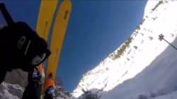 Ce skieur n'avait pas anticipé la