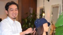 がん患者が気軽に外出できる頭髪付きの帽子 名古屋の美容師が開発に挑戦
