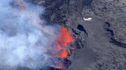 Le Piton de la Fournaise entre en éruption à La