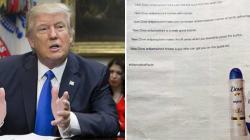 La nuova campagna della Dove prende in giro Trump sulle Fake