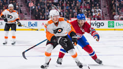 Le Canadien s'incline contre les Flyers à