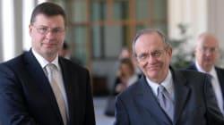 Il falco Dombrovskis contento per la resa di