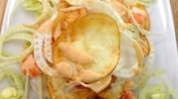 Vite fait, bien fait: Chips de pomme de terre au fenouil et
