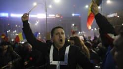 Roumanie: 500 000 manifestants malgré le recul du