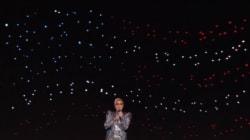 Comment ont été créées les centaines d'étoiles pour Lady Gaga à la mi-temps du Super