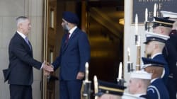 Sajjan Hints At New Military Funding After Meeting U.S.