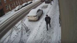 Vandalisme sur une mosquée à Montréal: une vidéo diffusée par la
