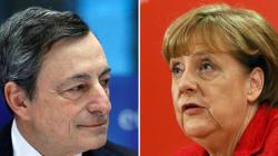 Draghi-Merkel, 2 ore e mezza di