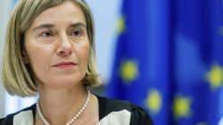La jefa de la diplomacia europea viaja a EEUU para rebajar la