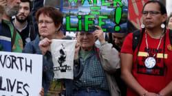Les Amérindiens demandent à la justice le gel du chantier de