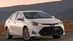 Les 10 véhicules les plus vendus au Canada en