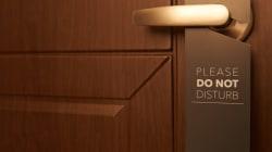 Do Not Disturb: Sexy Hotel Amenity