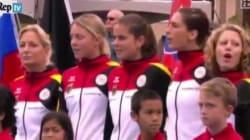 Usa-Germania di tennis, gaffe dell'organizzazione: suona l'inno tedesco con la strofa