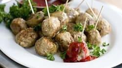 A Hearty Oscar Dish: Rocco DiSpirito's Low-Fat Meatballs A Party