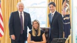 Questa foto di Ivanka Trump nello Studio Ovale ha fatto arrabbiare