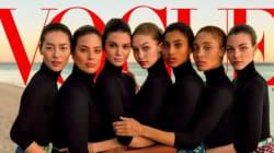 Vogue choque en célébrant la diversité avec Karlie Kloss en