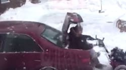 Newfoundlanders Up The Snowblowing Game With Genius