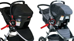 Britax Stroller Sets Recalled In Canada After Car Seats Fall