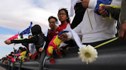 Un «mur humain» à la frontière mexicaine pour protester contre