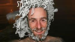 Yukon Hair-Freezing Contestants Have Some Stiff
