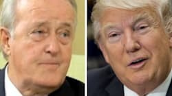 Watch Brian Mulroney Serenade Donald Trump With Irish