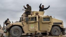 Les forces irakiennes convergent vers l'aéroport de