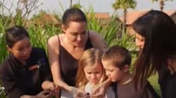 Angelina Jolie Taught Her Kids How To Eat Bugs Like A