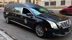 Hearse Pulls Over Distracted Toronto