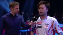 英語が苦手な日本人ビリヤード選手、世界大会で機転。会場を爆笑の渦に(動画)