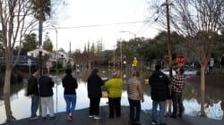 Inondations en Californie: des milliers de personnes
