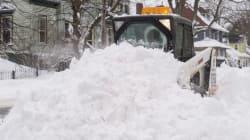 Enraged Shoveller Chases Snowplow Down Fredericton