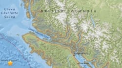 Earthquake Jolts Area Off Vancouver Island For 2nd Time This
