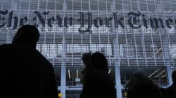 Le New York Times lance une publicité sur la