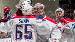 Le match des Canadiens contre les Maple Leafs en cinq moments