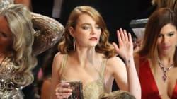 Emma Stone fait une déclaration politique grâce à un accessoire sur sa