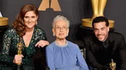 'Hidden Figures' Hero Katherine Johnson Receives Standing