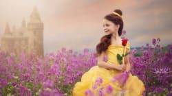 Cette fillette a eu droit à une séance photo digne des princesses