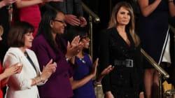 Il vestito nero di Melania durante il primo discorso del marito al Congresso ha un significato