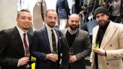 Styles de soirée: l'inauguration en grand de la boutique de vêtements pour homme
