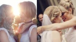 コスプレを愛したレズビアンカップルの結婚式写真が、とても美しい(画像)