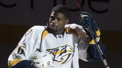 P.K. Subban Moved To Tears By Habs'