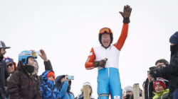 Olympics Favourite 'Eddie The Eagle' Returns To Ski Jump In