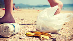 Plastica, sigarette, fazzoletti. I rifiuti che popolano il nostro