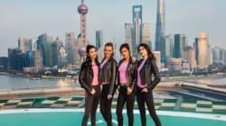 Le défilé de Victoria's Secret à Shanghai en
