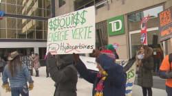Financement d'oléoducs: manifestations à Vancouver et à