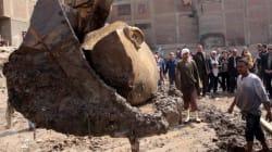 L'Egitto festeggia la statua di Ramses. Ma è polemica: