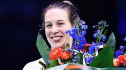 Marianne St-Gelais vice-championne du