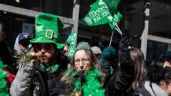Montréal vire au vert pour le 194e défilé de la