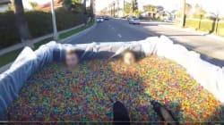 ユーチューバー、トラックの荷台に子供載せた映像で児童虐待の疑いで逮捕