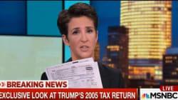 Msnbc mostra la dichiarazione dei redditi di Trump. Il presidente s'infuria e